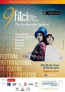 Cartel de la 9ª edición del FITCI, año 2014